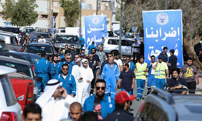 Kuwait gives in to pay rise demands from oil union