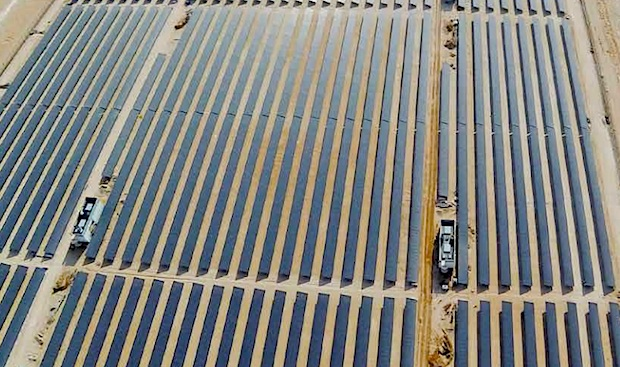 Dubai's DEWA awards deal for 800MW solar park to Masdar-led group