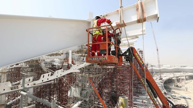 Construction progressing on Abu Dhabi's new Midfield Terminal