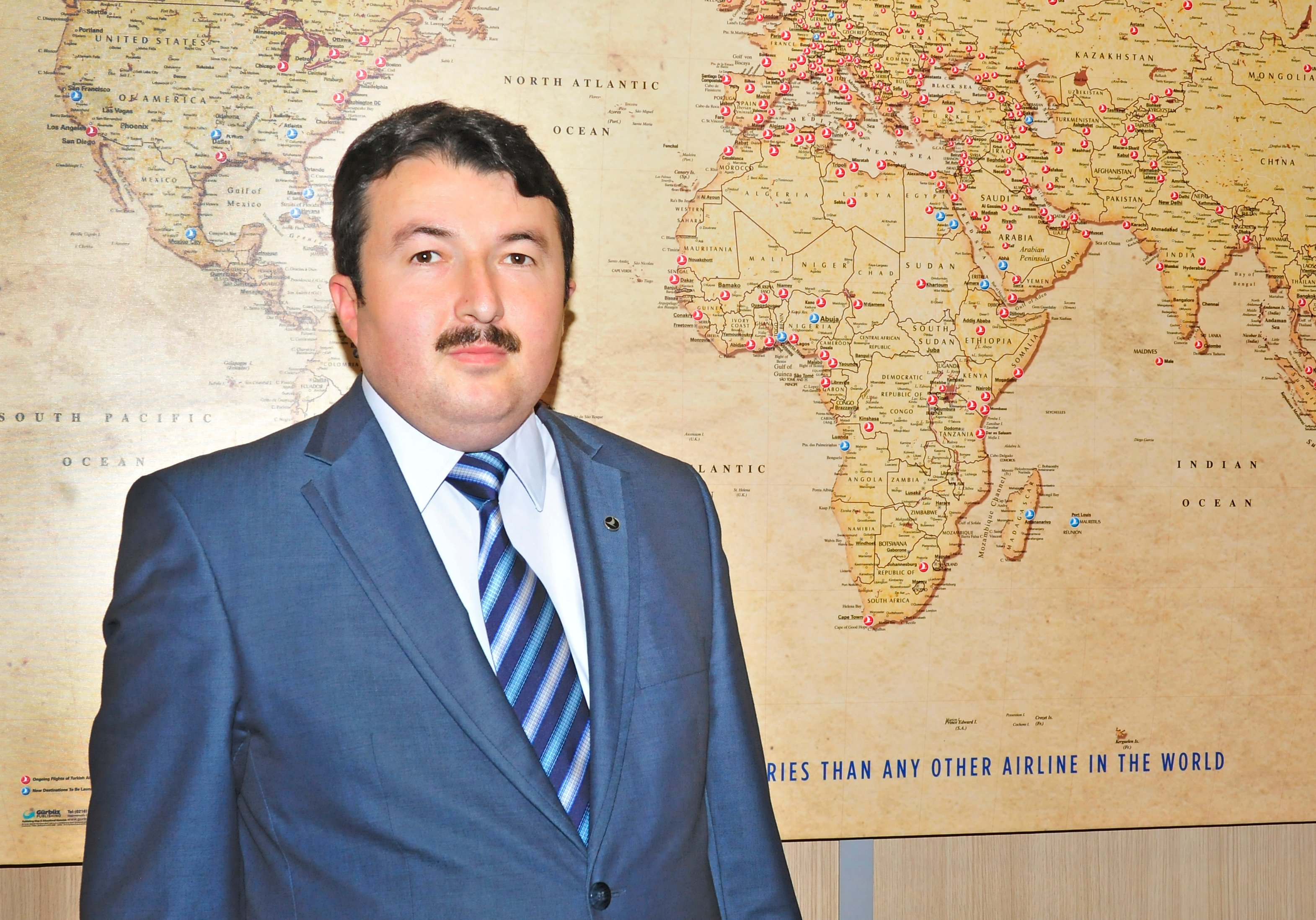 Five Minutes With Adem Ceylan, VP Marketing & Sales,  ME, Turkish Airlines