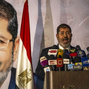 Brotherhood Hails Morsy President