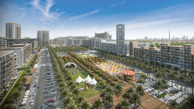Dubai's Nshama launches prime residential apartments at Town Square project