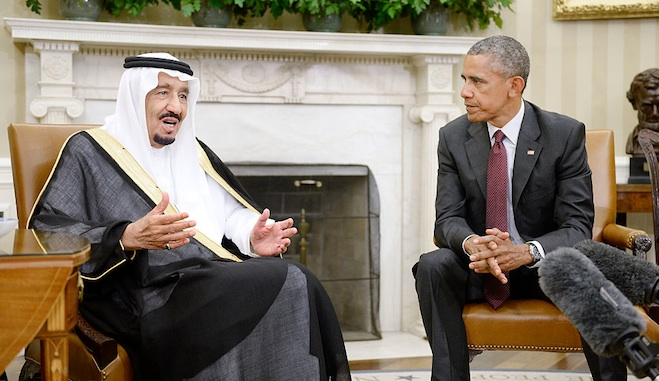 Obama set to meet King Salman to ease strained relations