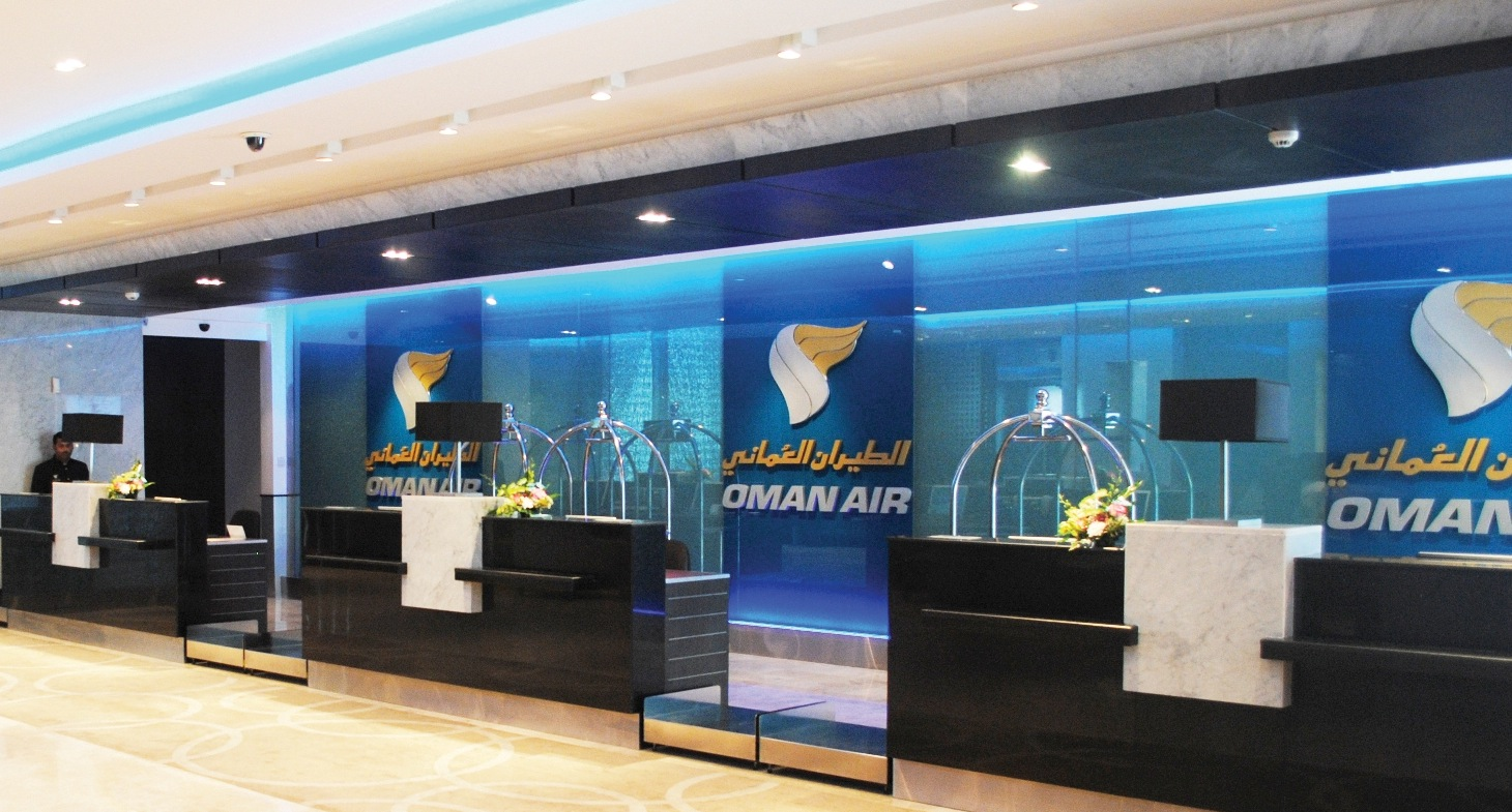 Oman Air Opens First And Business Class Check-In