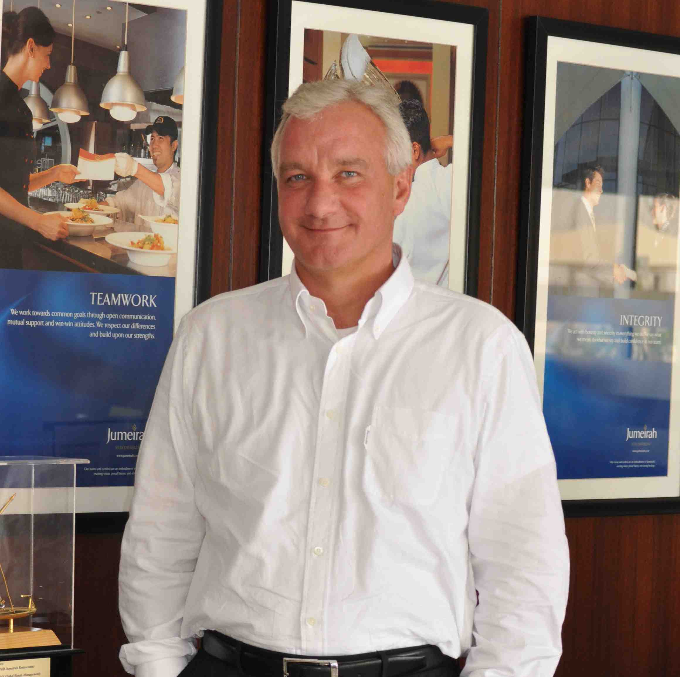 5 Minutes With… Phil Broad, MD, Jumeirah Restaurants