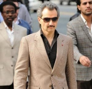Prince Alwaleed's Kingdom Holding has minority stakes in some of the world's top companies.