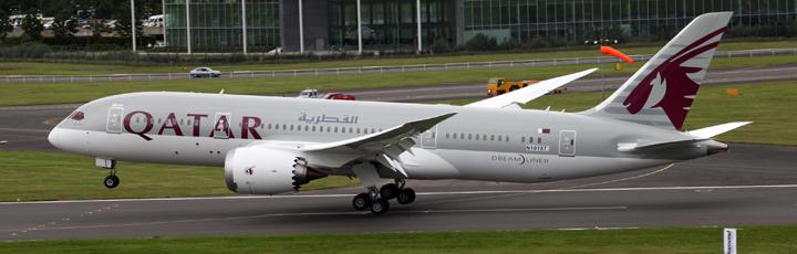 Qatar Airways To Operate Dreamliners To Scandinavia