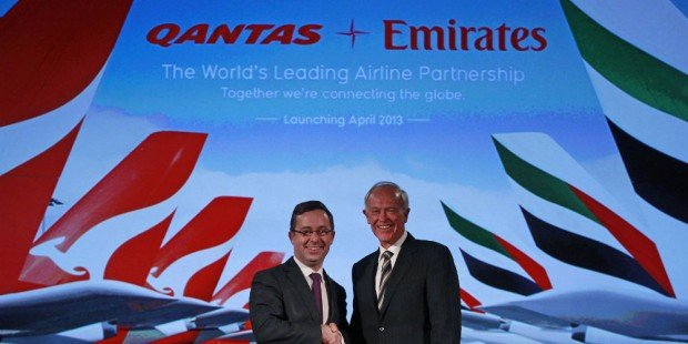 Qantas CEO: Five Times More Customers With Emirates Than BA