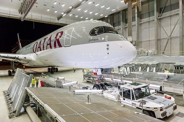 Pictures: Qatar Airways' New Airbus A350 XWB