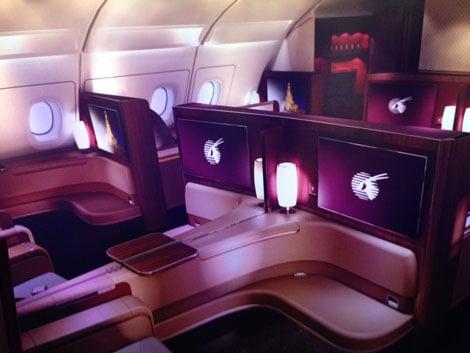 Qatar Airways Unveils A380 First Class