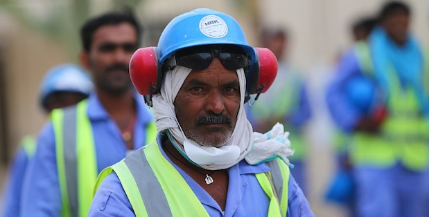 60% of Qatar's population lives in 'labour camps'