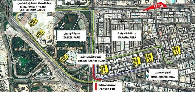 Road closure to hit motorists in Old Dubai, Karama