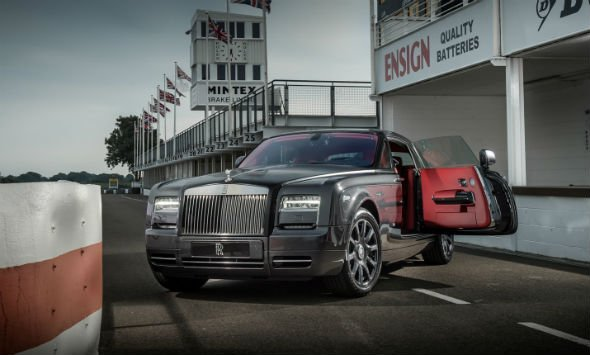 Rolls-Royce Phantom Coupe 'Chicane' edition
