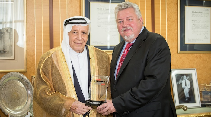 Revealed: Winners At The Gulf Business Industry Awards 2015