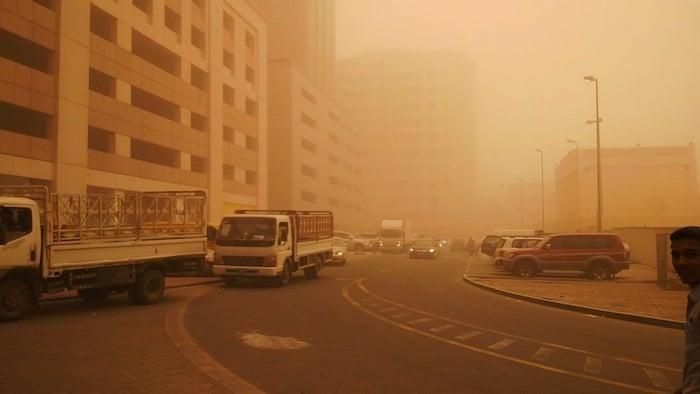 UAE weather authority warns of dust, rain