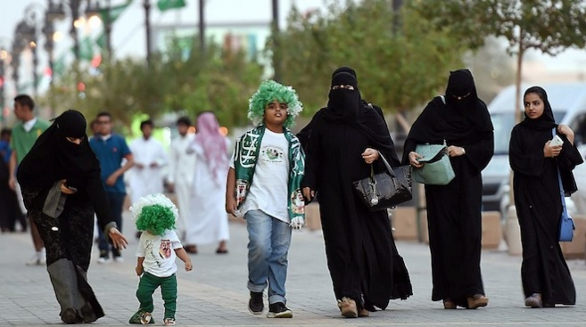 Saudi women to join national day celebrations in sports stadium for first time