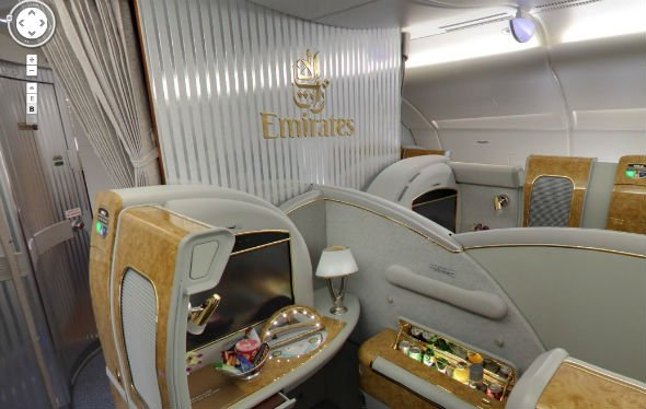 Google Offers Virtual Tour Of Emirates A380