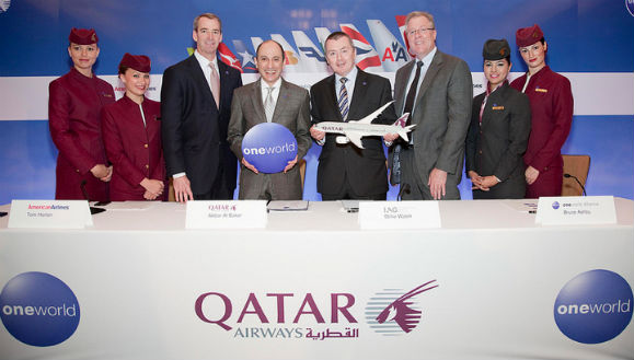 Qatar Airways To Join Oneworld Alliance