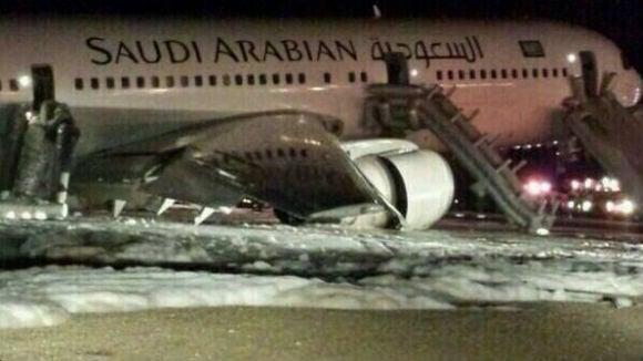 Saudi Plane Makes Emergency Landing, 29 Hurt