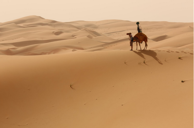Video: Google Launches Street View Imagery Of Abu Dhabi's Liwa Desert