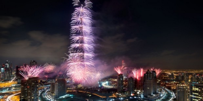 Dubai ranked world's most expensive city to ring in the New Year