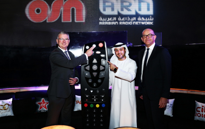 ARN radio stations now available on OSN