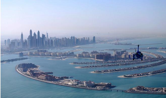 Gyrocopter crashes off Dubai's coast