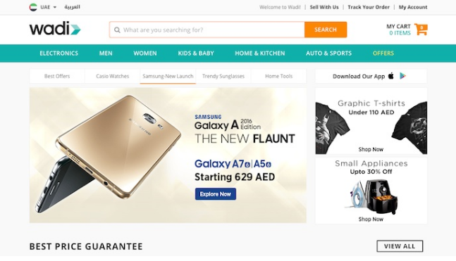 Middle East e-commerce site Wadi.com raises $67m funding