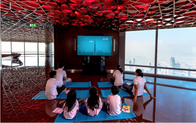 Pictures: Burj Khalifa launches new education programme
