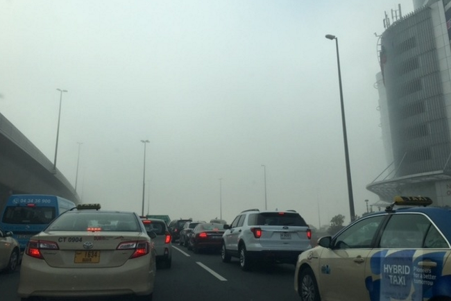 Pictures: Fog envelopes Dubai, rains expected across UAE