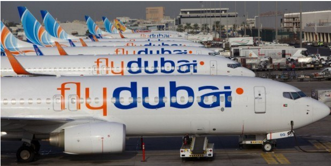 Flydubai temporarily cancels all flights from Dubai