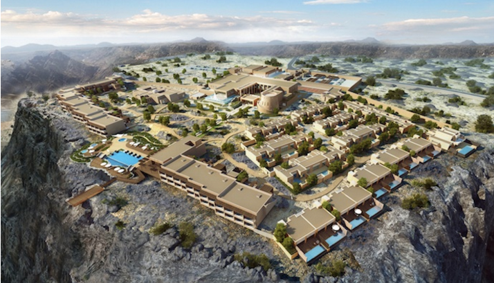 Anantara to open Middle East's highest five-star resort in Oman this year