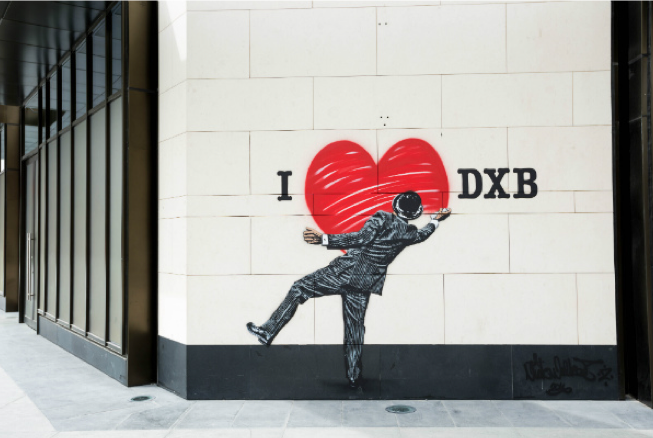 Dubai street art initiative to include Middle East's largest mural