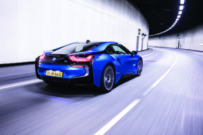 Car Review Bmw I8 Gulf Business