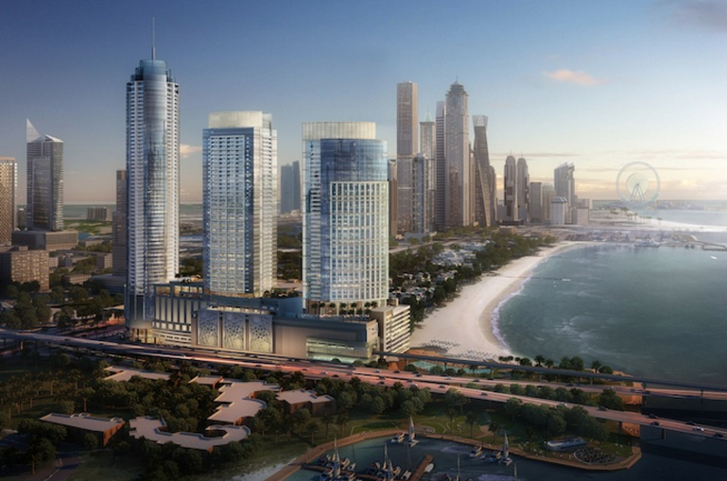Pictures: Nakheel's Palm Gateway project takes shape