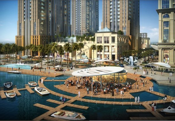 Al Habtoor Group on Sunday officially unveiled the 10 million sq ft Al Habtoor City which will dominate the Dubai Water Canal.