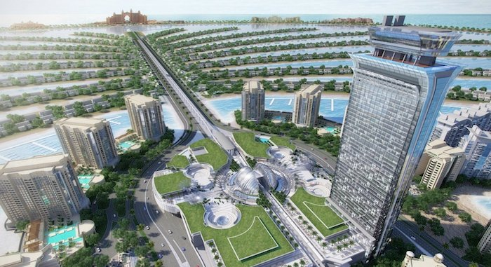 Nakheel awards Dhs 819m construction contract for Palm Tower