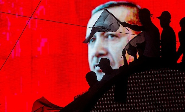 Turkey arrests 6,000 as crackdown continues after coup bid