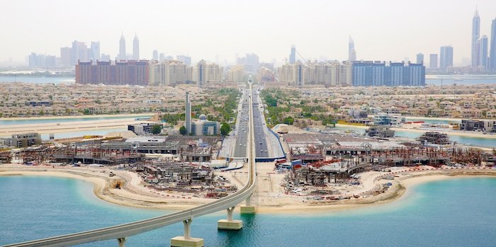 Nakheel says work on The Pointe mall at Palm Jumeirah 30% complete