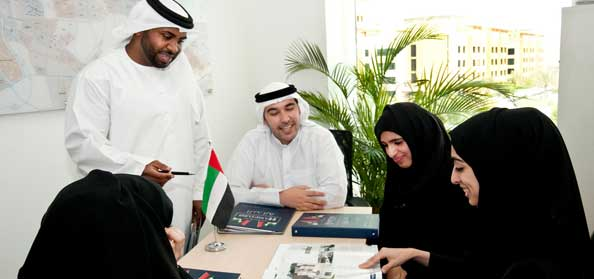 Emiratis Happiest in Private Sector
