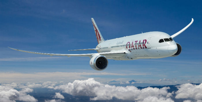 Qatar Airways Receives First Boeing 787 Dreamliner