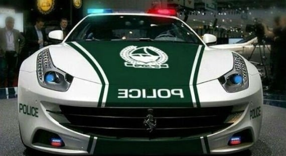 Dubai Police Adds Ferrari FF To Its Fleet
