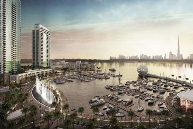Emaar awards construction contract for Dubai Creek Residences project