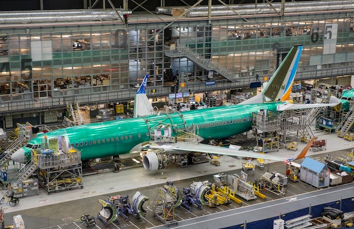Video: flydubai's latest 737 takes shape in Boeing's Renton factory