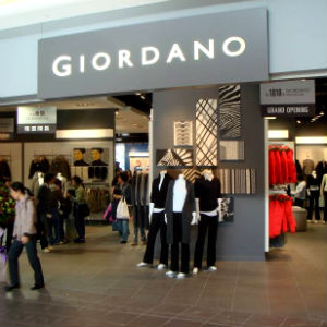 Giordano Unveils Expansion Plans, Web Store
