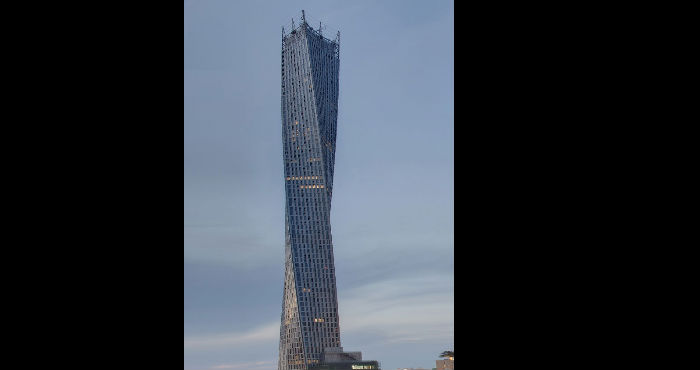 Dubai Unveils World's Tallest Twisted Tower