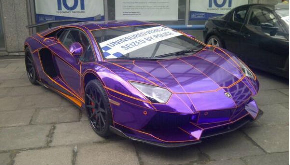 Dubai Registered Lamborghinis Seized In London Gulf Business