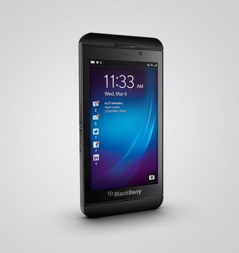 BlackBerry's BB Z10 To Launch On Feb 10 In UAE