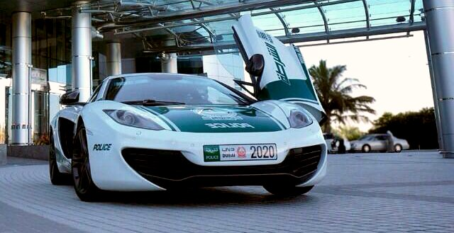 McLaren MP4-12C Joins Dubai Police Fleet