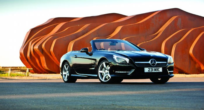 Review: The Mercedes SL Legend
